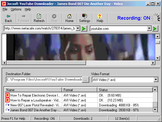 Youtube Downloader screenshot